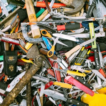 pile of random items