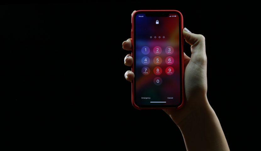Password on Phone