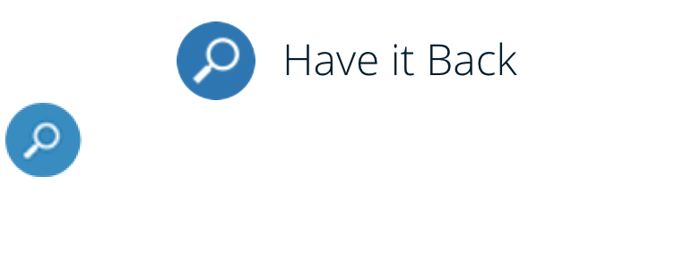 Have it back logo group