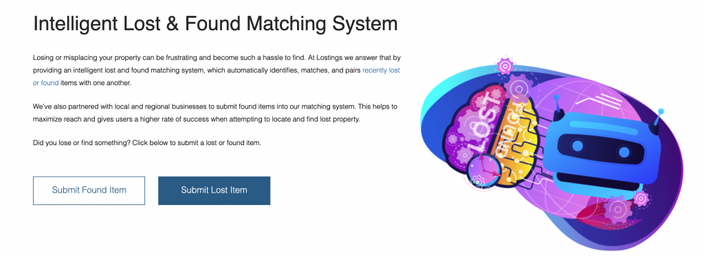Example bad Algorithms for Lost and Found matching